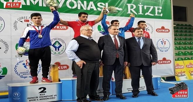 Türkiye Güreş Şampiyonası Bakan Aşkın Bakın Katıldığı Açılış Töreniyle Rize'de Başladı