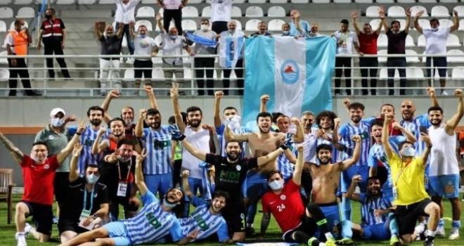 Pazarspor Mutlu Sona Ulaşarak 2. Lige Yükseldi