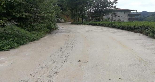 KÖYDES projesi kapsamında betonlamalar devam ediyor