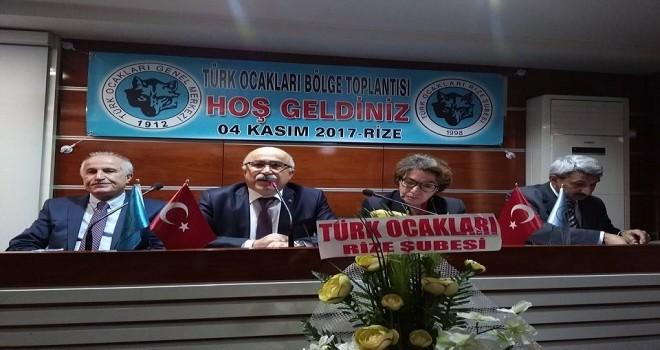 Türkocağı Bölge Toplantısı Rize'de Yapıldı