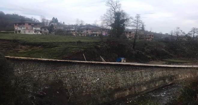 Taşçılar bağlantı yolu inşaatı devam ediyor
