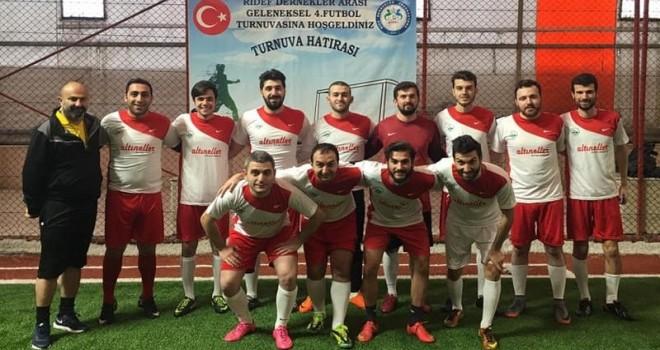 Kalkandere Vakfı Futbol Turnuvasına Katıldı