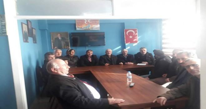 Kalkandere MHP teşkilatı aylık olağan toplantısı yapıldı.
