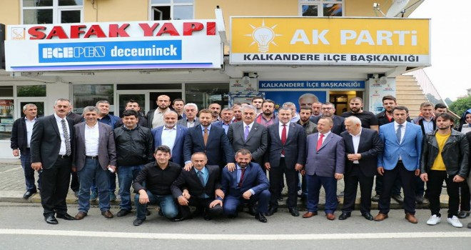 RizeAK Parti Milletvekili Adayları Kalkandere'de