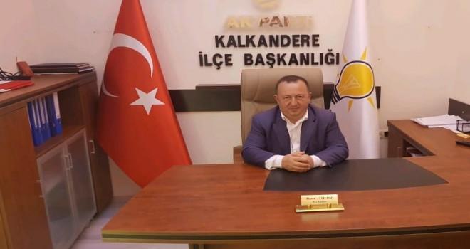 Kalkandere AK Parti İlçe Başkanı Hasan AYYILDIZ Kurban Bayramı Mesaji