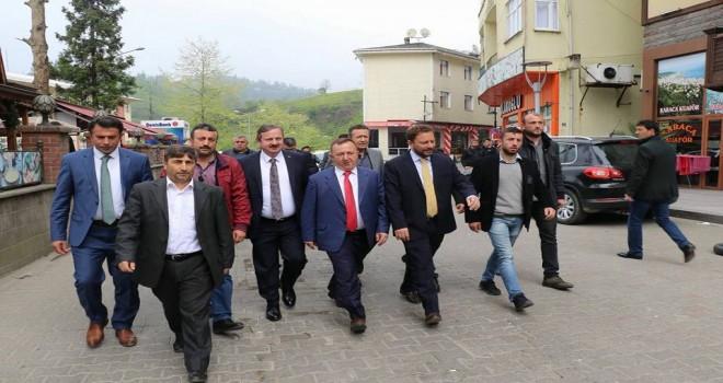 AK Parti Rize İl Başkanı Muhammed Avcı İlçemizde Zayaretlerde Bulundu