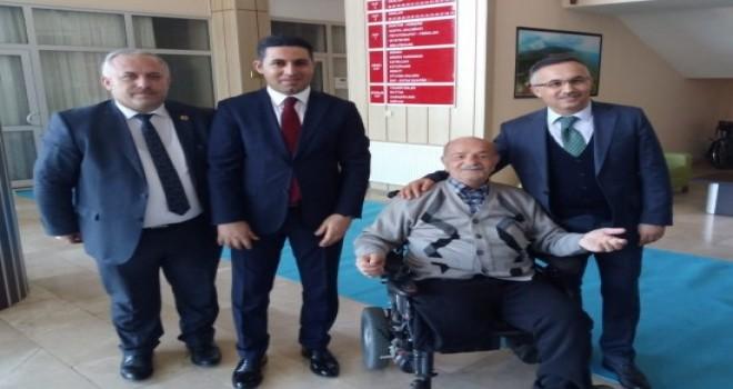 Vali Çeber'den,Fındıklı Huzurevi Yaşlı Bakım ve Rehabilitasyon Merkezine Ziyaret