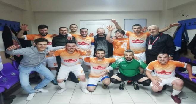 Kalkandere Ormanlıspor Deplasmanda Galip 1 -0