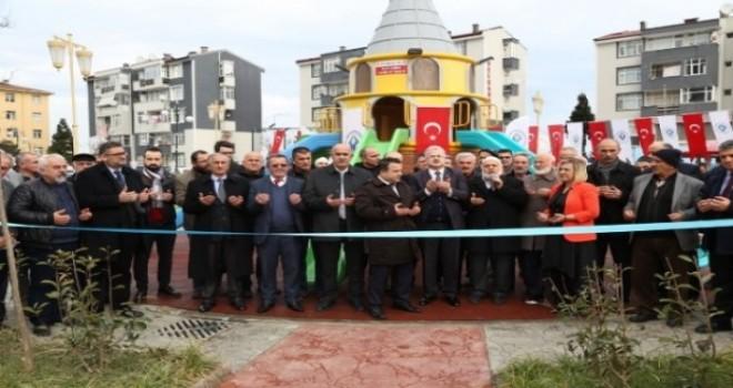 Rize Belediyesinin 56. Parkı Dualarla Hizmete Açıldı.