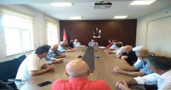 Kalkandere'de Muhtarlar Toplantısı