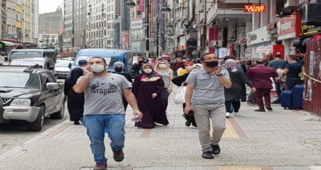 Rize'de Maskesiz Sokağa Çıkma Yasağına Nasıl Uyuluyor?