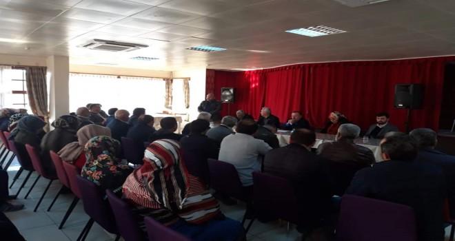 Kalkandere AK Parti İlçe Teşkilatı İştişare Toplantısı
