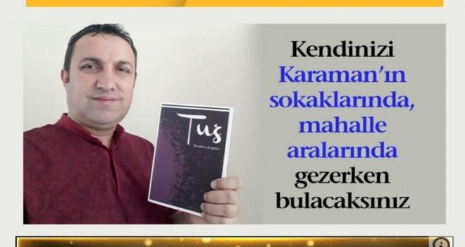 ÖDÜLLÜ ŞAİR ŞAŞMA'NIN TUZ'U ÇIKTI