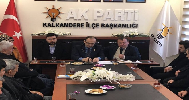 Rize AK Parti Milletvekili Hikmet AYAR Kalkandere'de