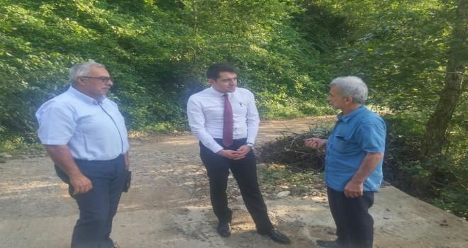 Kalkandere Kaymakamı Yokuşlu Köyü Ziyareti