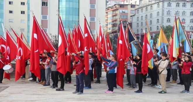 Rize, Gazi Mustafa Kemal Atatürk'ü Andı