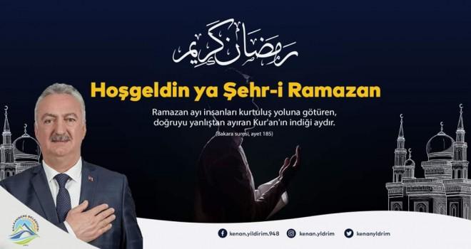 Kenan Yıldırım'dan Ramazan ayı mesajı