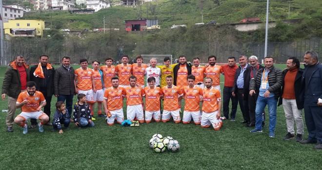 Kalkandere Ormanlıspor- Karadenizgücüspor-5-1