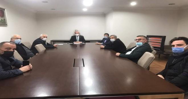 Kalkandere belediyesi 2021 ilk meclis toplantısıni yaptı