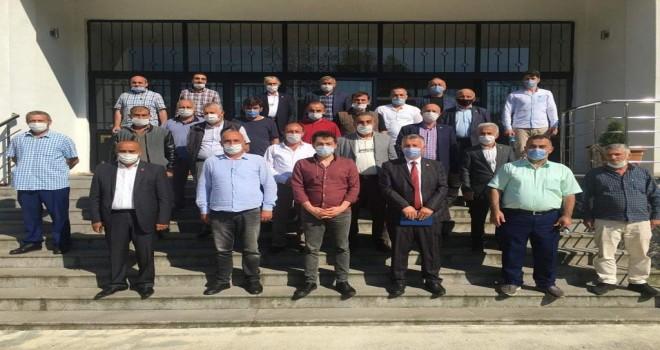 Kalkandere'de birlik encümen seçimi yapıldı
