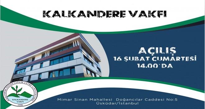 Kalkandere Vakfı Yeni binası Cumartesi Açılıyor