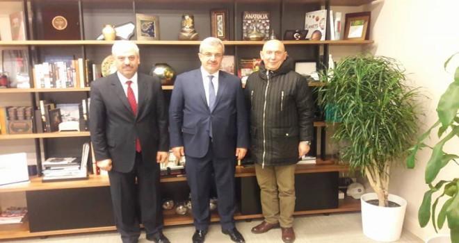 Ankara Rizeliler Dernek Başkanından Ziyaretler
