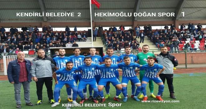 Kendirli Belediye-Hekımoğlu Doğanspor-2-0