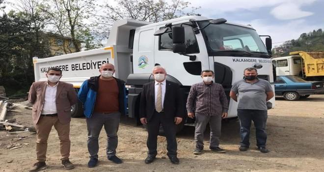 Kalkandere belediyesi araç parkını yeniliyor