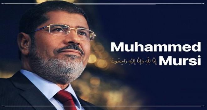 Şehit Muhammed Mursi İçin Rize'de Gıyabi Cenaze Namazı