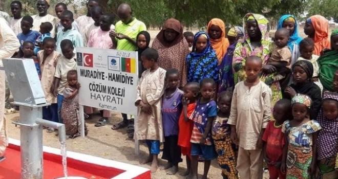 Rize'de Öğrencilerin Harçlıkları Kamerun'da Su Kuyusu açarak Çeşme Oldu