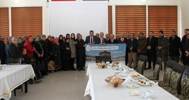 Rize'de Kanser Hastaları Manevi Şifa Projesiyle Umreye Gönderildi