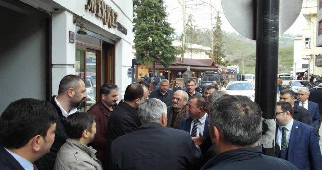 Ak Parti Milletvekili Hikmet Ayar Kalkandere'de