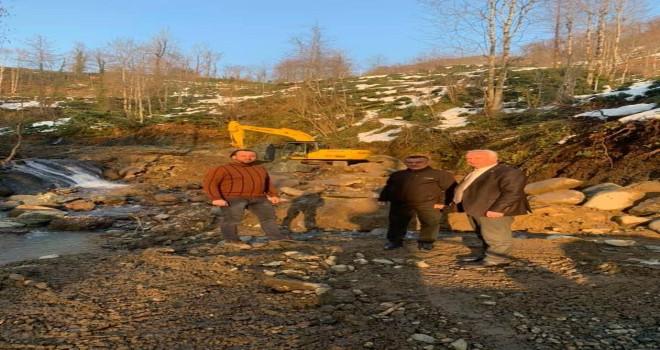 Cevizlik mahallesi yol çalışmaları devam ediyor