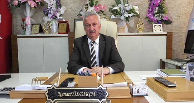 Belediye Başkanı Kenan Yıldırım Bayram Mesajı