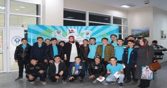 Kalkandere AİHL Öğrencileri Bilim Şenliğinde
