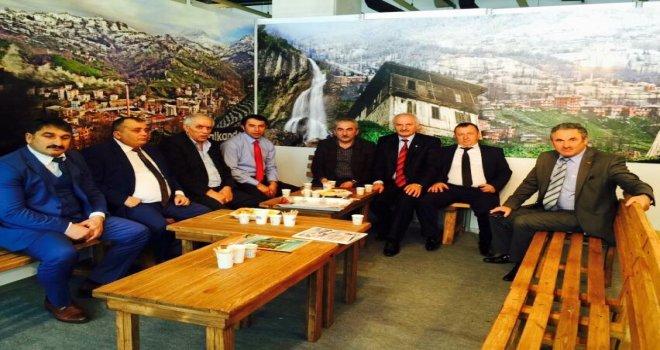 Bursa Rize Günleri Kalkandere Standı Ziyareti