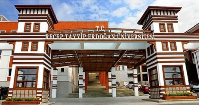 RTEÜ Rektörlüğünden Basın Açıklaması
