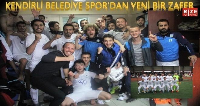 Kendirli Belediye Spor Yeniden Liderliğe Yükseldi