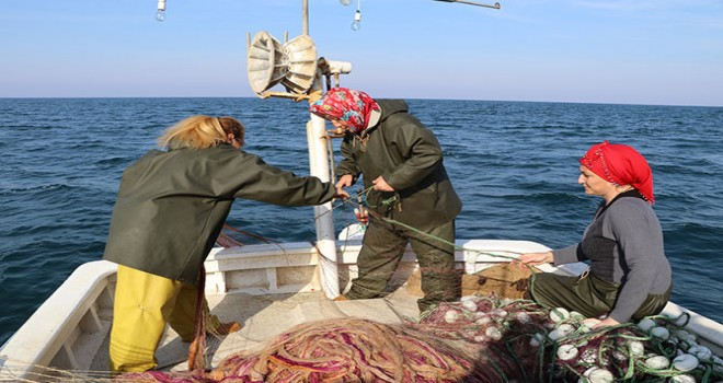 Rize'li Kadın Balıkçılar