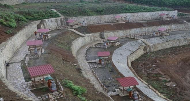 Isırlık Kent Ormanı ve Mesire Alanı projesi Yerinde İncelendi