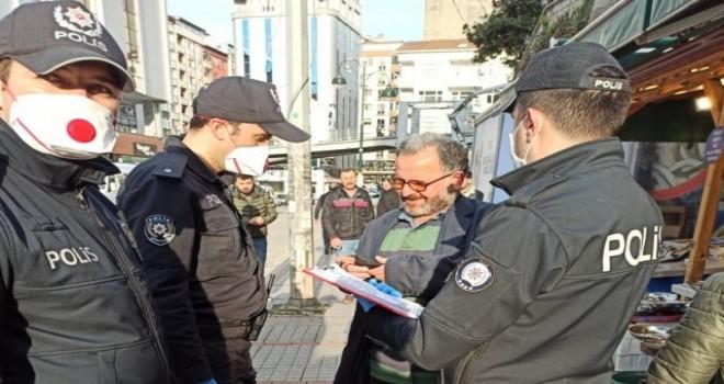 Rize'de Yasağa Uymayan 65 yaş üstü Çok Sayıda Vatandaşa 3150 TL. idari Para Cezası Kesildi !