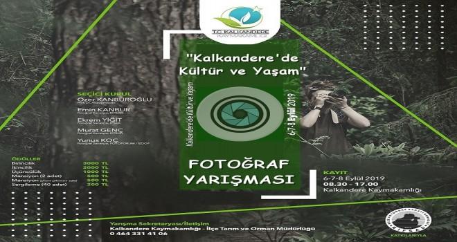 Kalkandere'de Kültür ve Yaşam  Konulu Fotoğraf Yarışması
