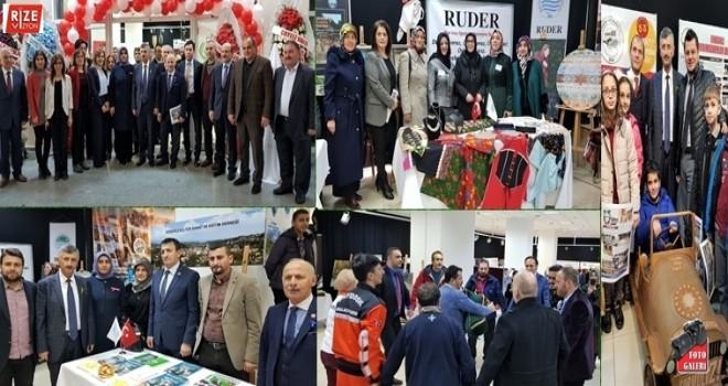 Rize'de 28 STK'nın Katıldığı İlk Fuar Açıldı