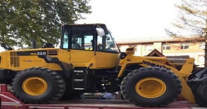 Kalkandere belediyesine yeni hizmet aracı alımı