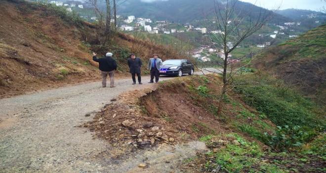 Kalkandere Kaymakamı Köylerde İncelemelerde Bulundu