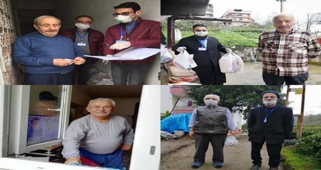 Kronik hastalıkları olanlara evde hizmet devam ediyor