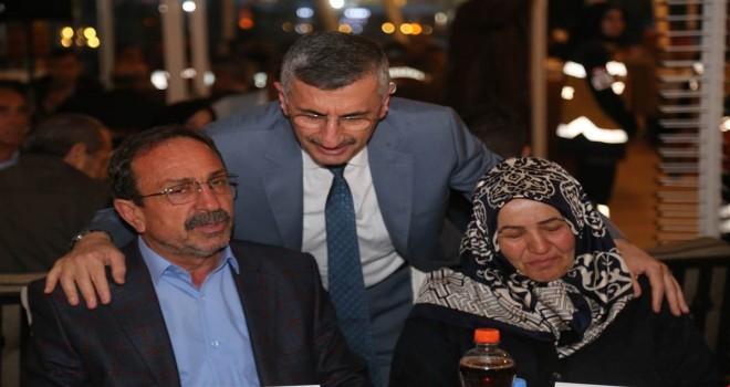 Vali Bektaş Şehit Aileleri ve Gazilerle İftarda