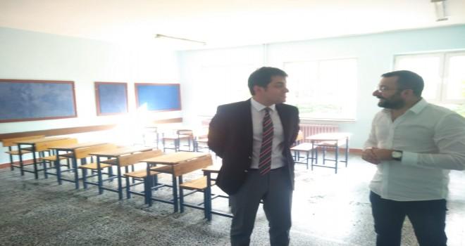 Kalkandere Kaymakamı Okulları Ziyaret Etti