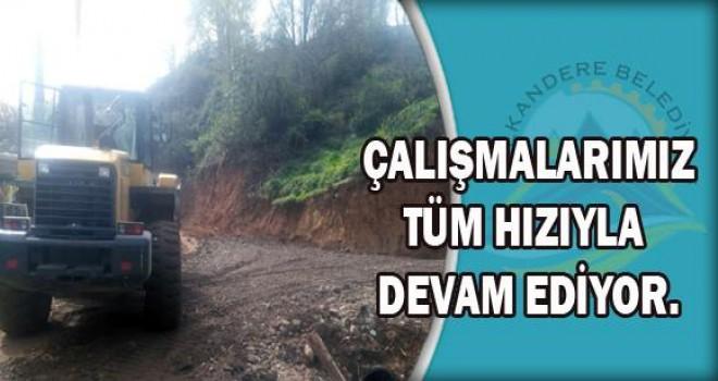 Kalkandere Belediyesi Hizmetleri Tüm Hızıyla Sürüyor