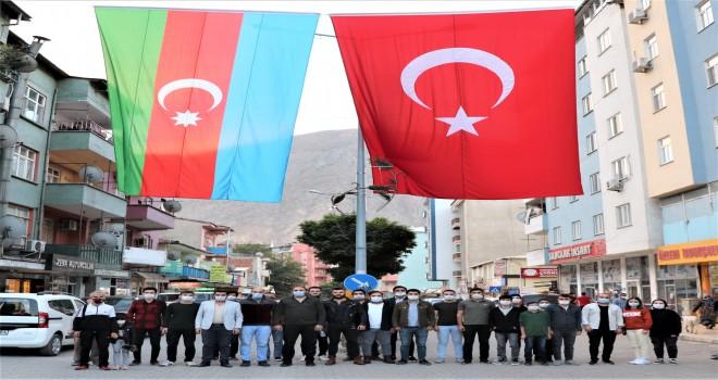YUSUFELİ BELEDİYESİ GENÇLİK MECLİSİ'NDEN AZERBAYCAN'A DESTEK